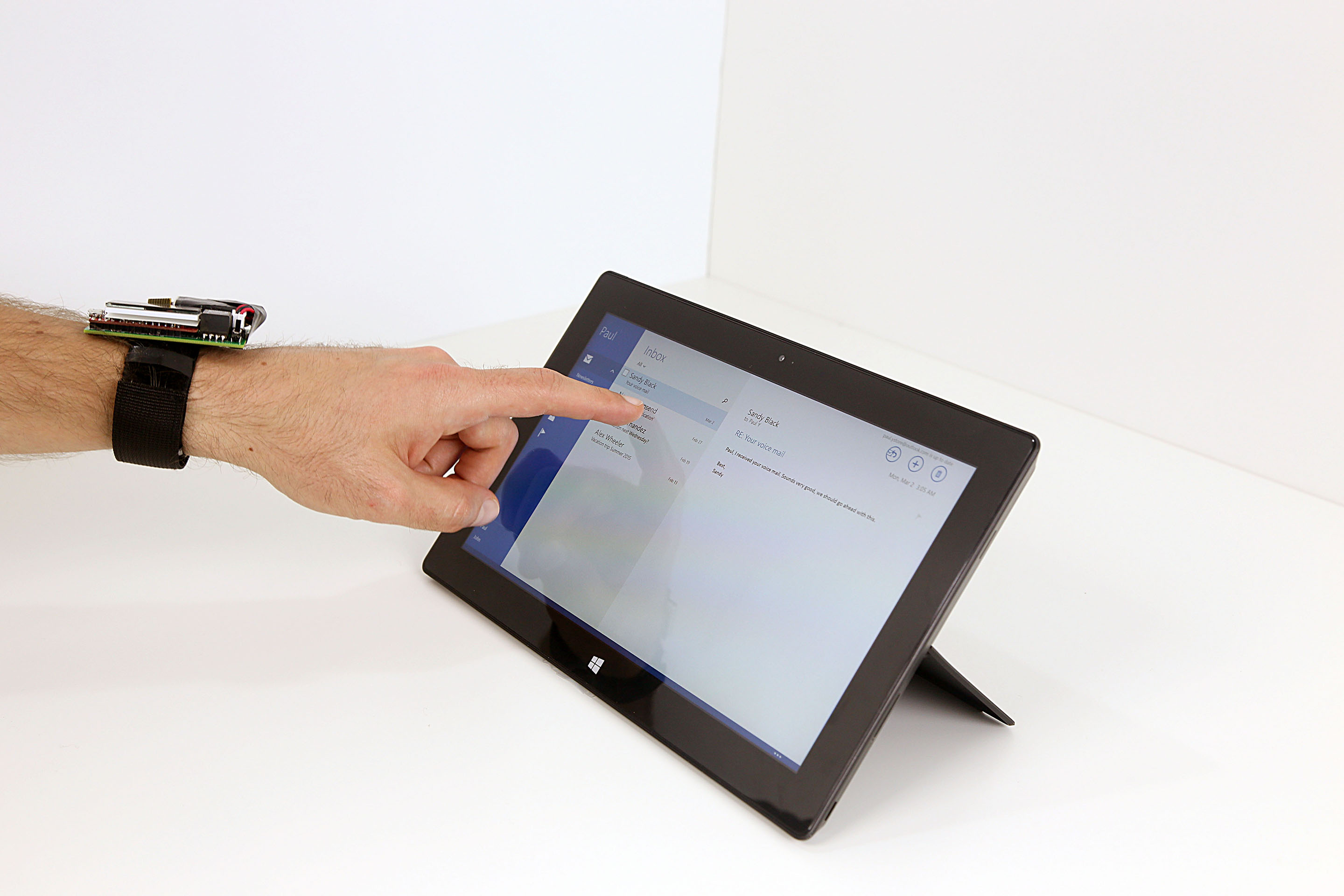 Biometric Touch Sensing: Seamlessly Augmenting Each Touch With